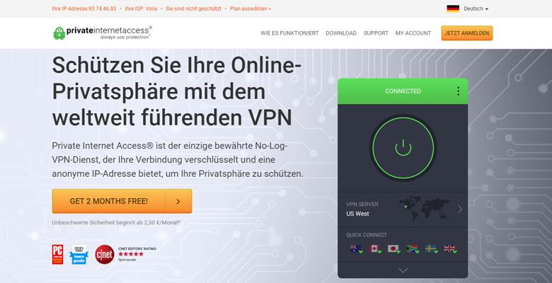 Private Internet Access erfahrungen